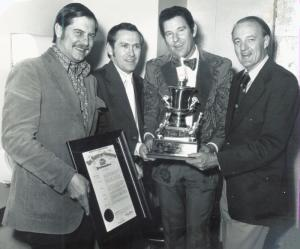 Freddie Backstage WPLO Award