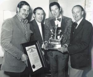 Freddie Backstage WPLO Award