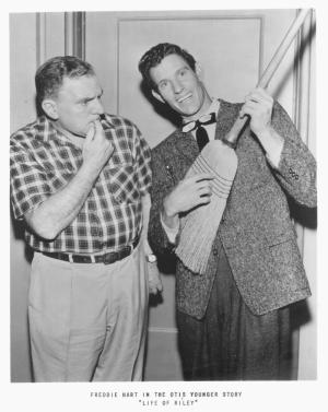 William Bendix  Freddie On The Set Life Of Riley (Otis Younger Story)